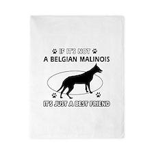 Belgian Malinois designs Twin Duvet