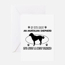 Anatolian Shepherd designs Greeting Card