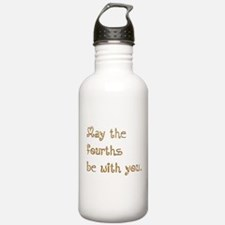 May the fourths be with you. Water Bottle
