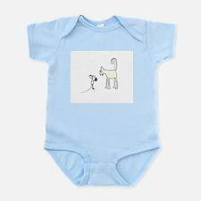 Mouse Gives Box Infant Bodysuit