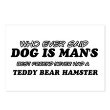 Teddy Bear Hamester designs Postcards (Package of