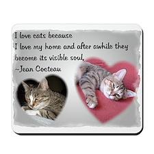 Cocteau's Cat Mousepad