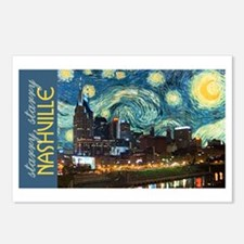 Starry, Starry Nashville Postcards (Package of 8)