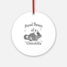 Chinchilla Parent Ornament (Round)