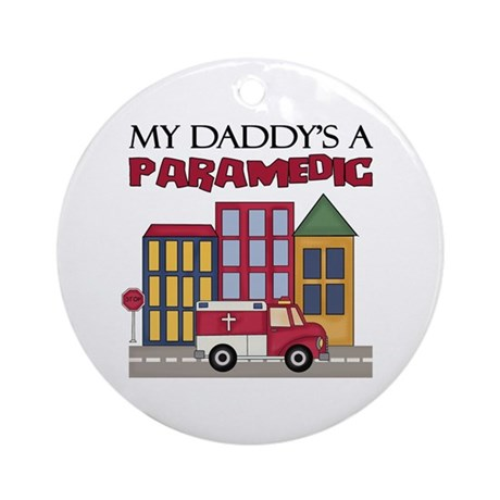 My Daddy's A Paramedic Keepsake Ornament