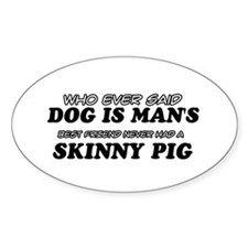 Skinny Pig designs Decal