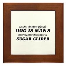Sugar Glider designs Framed Tile