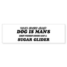 Sugar Glider designs Bumper Sticker