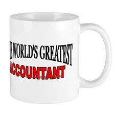 """The World's Greatest Accountant"" Mug"