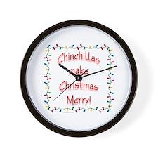 Chinchilla Merry Wall Clock