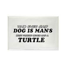 Turtle designs Rectangle Magnet