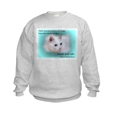 Schweitzer's Cat Kids Sweatshirt