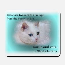 Schweitzer's Cat Mousepad