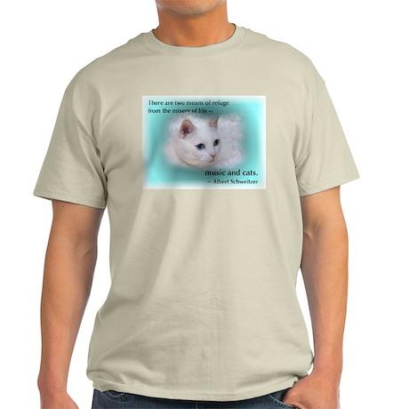 Schweitzer's Cat Light T-Shirt