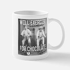 Lucy Ethel Exercise For Chocolat Mug