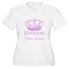 Custom Princess Plus Size T-Shirt