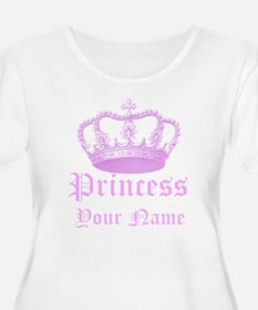 Custom Princess Plus Size T-Shirt