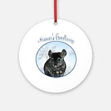 Chinchilla Season's Ornament (Round)
