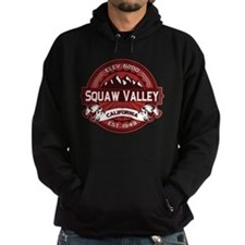 Squaw Valley Red Hoodie