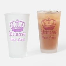 Custom Princess Drinking Glass