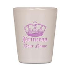 Custom Princess Shot Glass