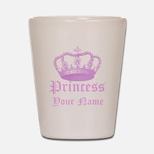 Custom Princess Shot Glass