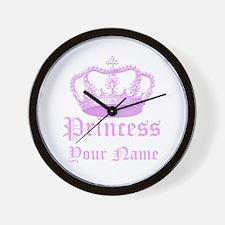 Custom Princess Wall Clock
