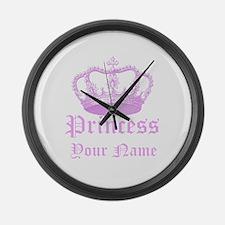Custom Princess Large Wall Clock
