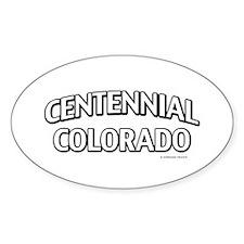 Centennial Colorado Decal