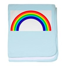 Gay and Lesbian Pride Rainbow baby blanket
