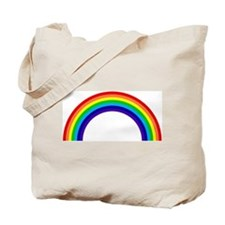 Gay and Lesbian Pride Rainbow Tote Bag