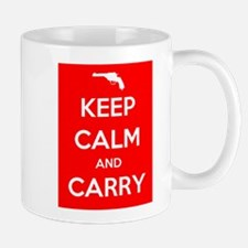 Keep Calm and Carry - Color Mug