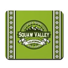 Squaw Valley Green Mousepad