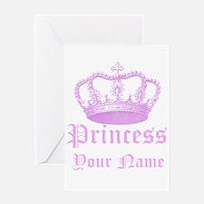 Custom Princess Greeting Card