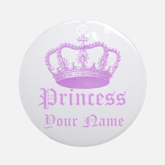 Custom Princess Ornament (Round)
