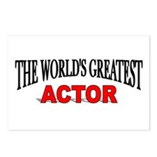 """""""The World's Greatest Actor"""" Postcards (Package of"""