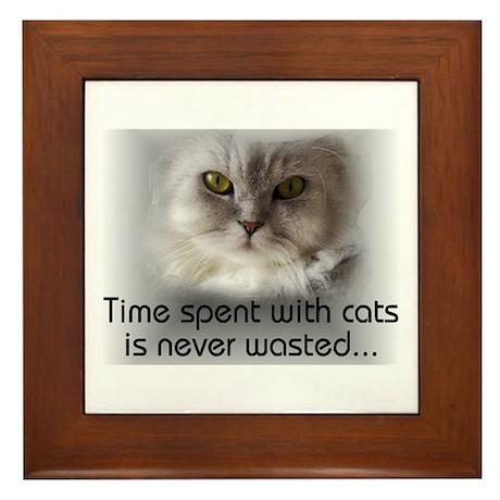 Sigmund's Cat Framed Tile