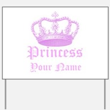 Custom Princess Yard Sign