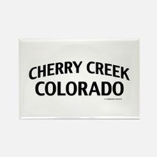 Cherry Creek Colorado Rectangle Magnet