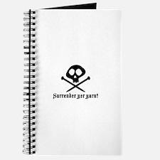 Surrender yer Yarn (yarn pirate) Journal