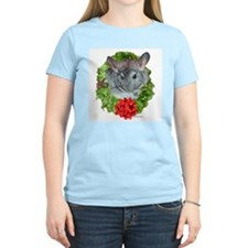 Chinchilla Wreath Women's Pink T-Shirt