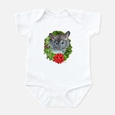 Chinchilla Wreath Infant Bodysuit