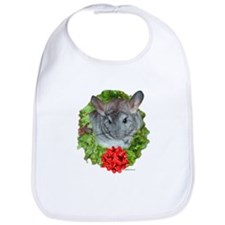 Chinchilla Wreath Bib