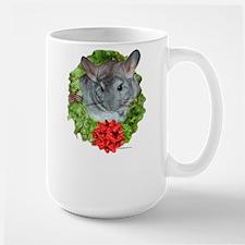Chinchilla Wreath Large Mug