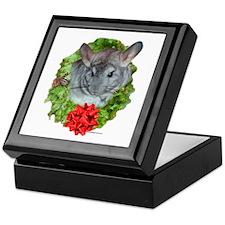 Chinchilla Wreath Keepsake Box