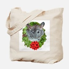 Chinchilla Wreath Tote Bag