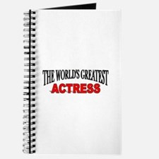 """""""The World's Greatest Actress Journal"""