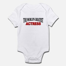 """""""The World's Greatest Actress Infant Bodysuit"""