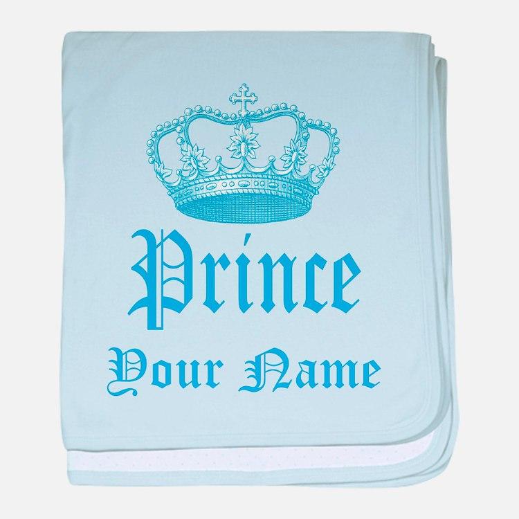 Custom Prince baby blanket