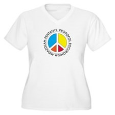 Peace out with Meds Capitals Plus Size T-Shirt